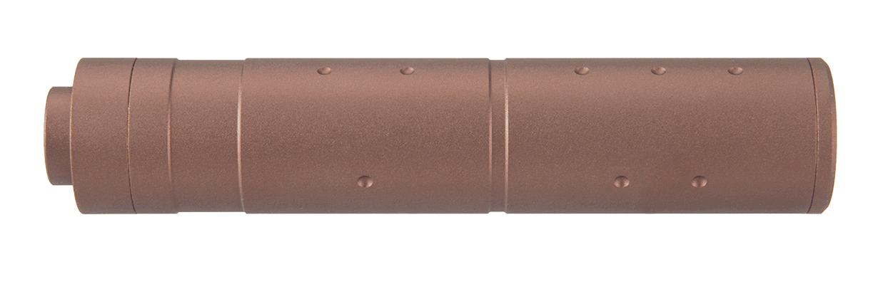 A68690-2 Silencieux aluminium 155mm Dot Mock Dark Earth - A68690