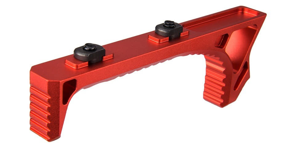 A68748 Grip Skeleton Speed Aluminium M-LOK / Keymod Rouge - A68748