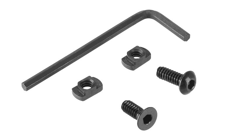 A68861-2 Grip Aluminium M-LOK & Keymod noir - A68661