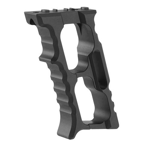 A68861 Grip Aluminium M-LOK & Keymod noir - A68661