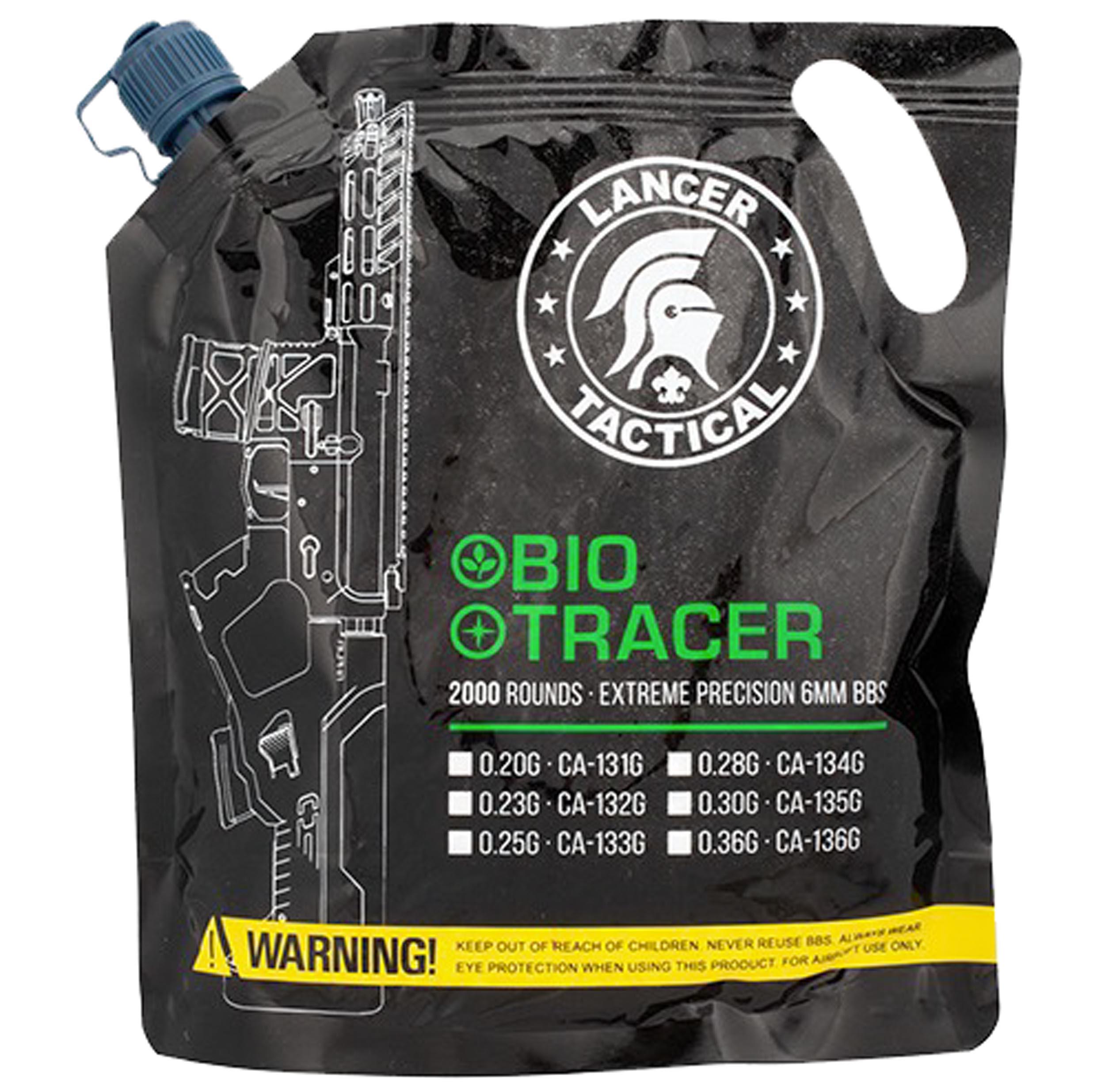 BB3322 Tracer BIO BBs 0,20g x 2000 bag Green - BB3320