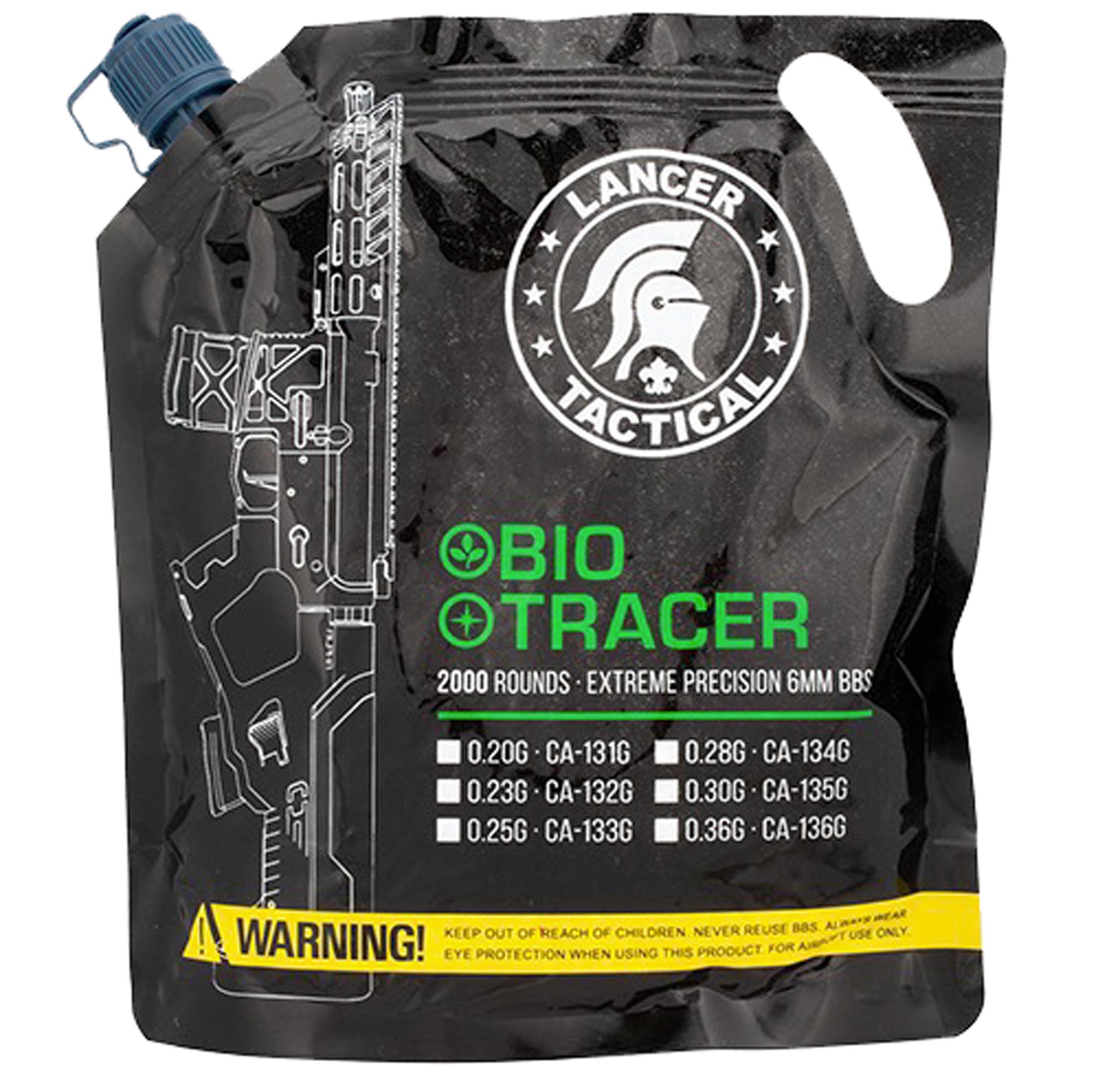 BB3324 Tracer BIO BBs 0,20g x 2000 bag Green - BB3320