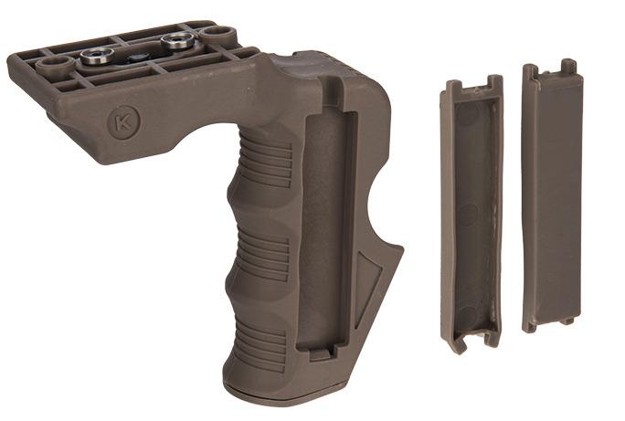 CA-1243T-3-Grip Impact Keymod Tan - CA-1243T