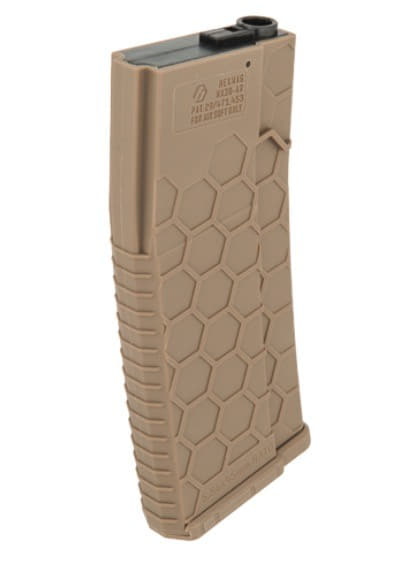 CLK9001-2 Chargeur AEG Mid-cap 120 coups Hexmag Dark Earth - CLK9001
