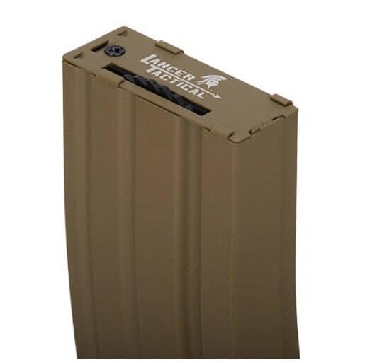 CLK9010-1 Hi-cap 300 rounds metal mag black - CLK9011