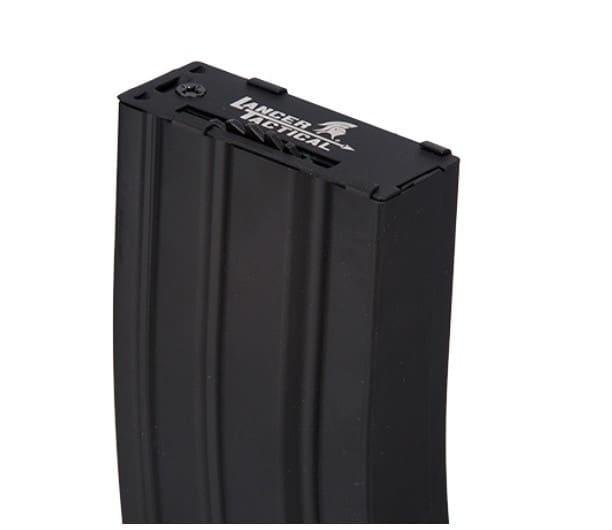 CLK9011-1 Chargeur Hi-cap métal 300 billes noir pour M4 AEG - CLK9011