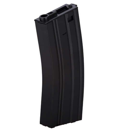 CLK9011 Chargeur Hi-cap métal 300 billes noir pour M4 AEG - CLK9011